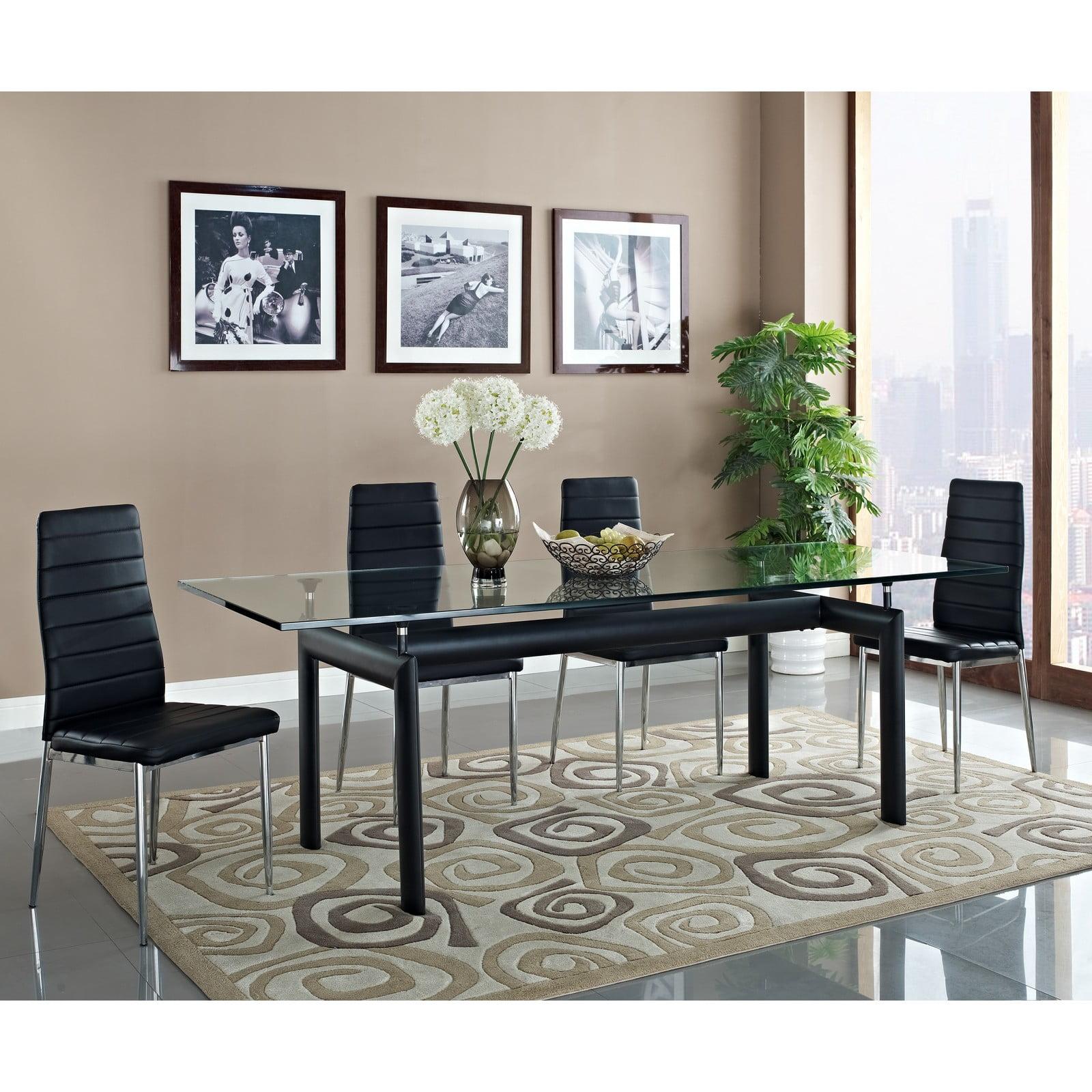lc6 dining table furnishplus. Black Bedroom Furniture Sets. Home Design Ideas