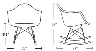 RAR Eames chair