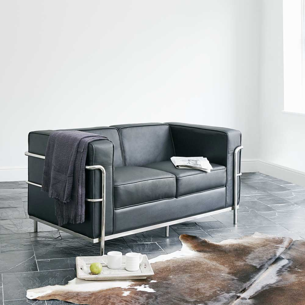 Lc2 Loveseat Le Corbusier Style Furnishplus